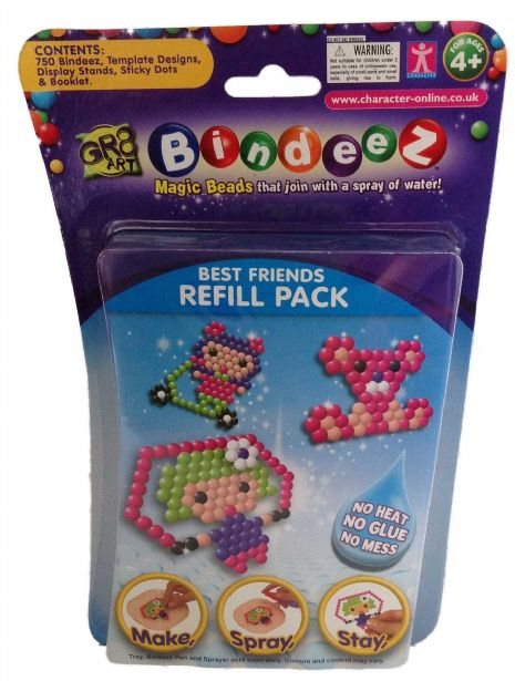 Bindeez Refill Packs - 750 Beads - BEST FRIENDS